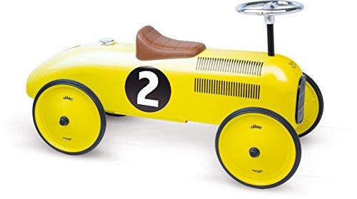 Vilac 1051 Yellow Ride On Classic Car