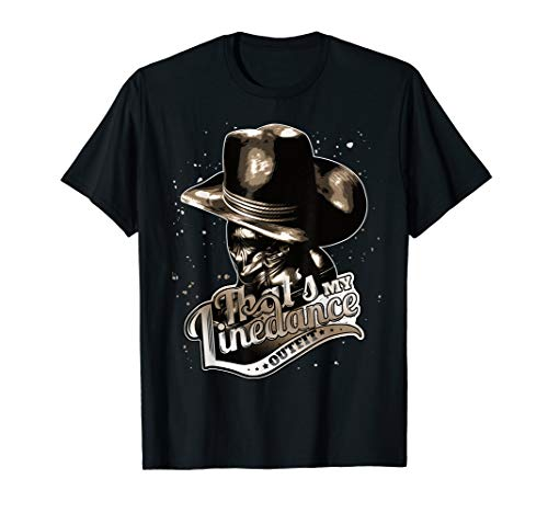 Cool Line dance Outfit | Countrymusic Tanzen Cowboy Cowgirl T-Shirt