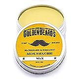 Golden Beards Organic Moustache Wax, 15 ml