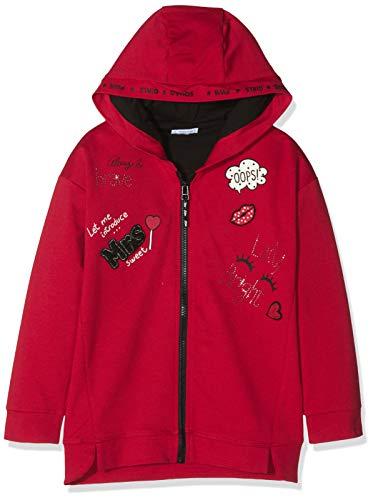 Mayoral Mayoral Mädchen 4425 Kapuzenpullover, Rot (Rojo 94), 5 Jahre (Herstellergröße: 5)