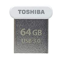 64GB USBメモリー USB3.0 TOSHIBA 東芝 TransMemory U364 R:120MB/s 超小型サイズ 海外リテール THN-U364W0640C4