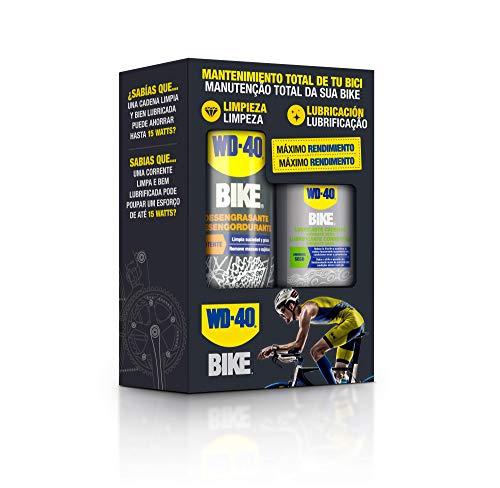 WD-40 BIKE - Bipack Mantenimiento Cadenas Bicicleta en Ambie