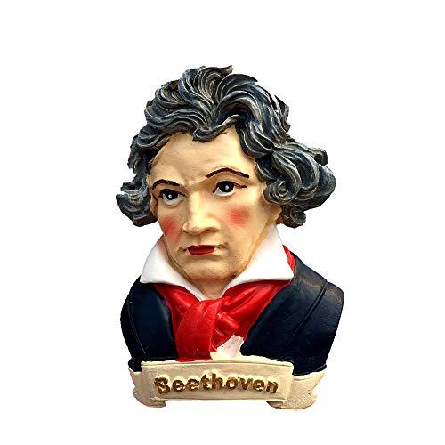 Beethoven Germany 3D-Kühlschrankmagnet, Souvenir, Geschenk, Sammlung, Heim- & Küchendekoration, Magnetaufkleber, Kühlschrankmagnet