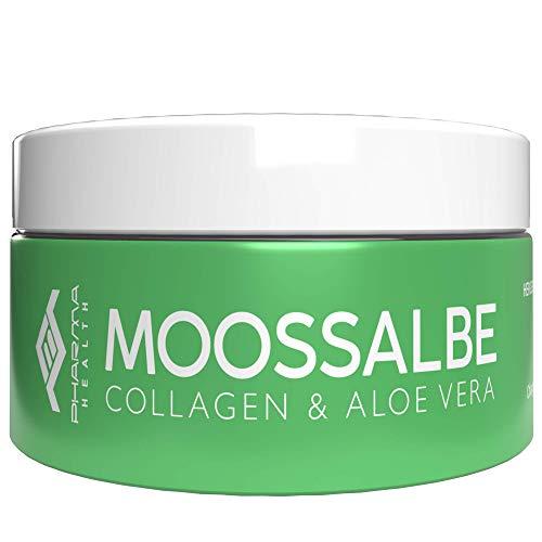 Moossalbe | Moos Salbe für Gesicht | Anti Aging | gegen Falten | für Tag und Nacht | 100 ml