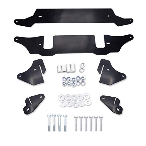 WSays 2 Inch Suspension Lift Kit Front & Rear Rise Mount Bracket Compatible with Polaris RZR 900 Trail/ 900 XC 2015-2021
