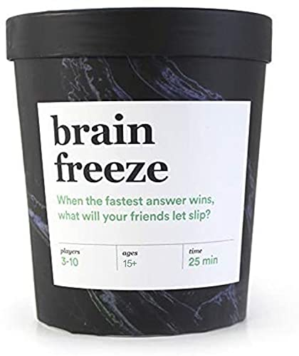 Brain Freeze Card Game: The Speak-Before-You-Think Game - After...