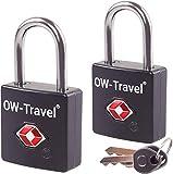 OW-Travel Lucchetto con Chiavi TSA per Valigie e Bagagli da Viaggio per Armadietto Valigia Accessori...