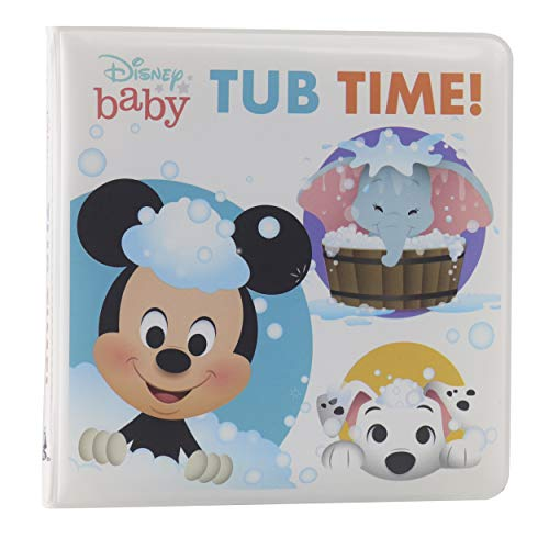 Disney Baby Mickey Mouse and More! - Tub Time! Bath Book - PI Kids