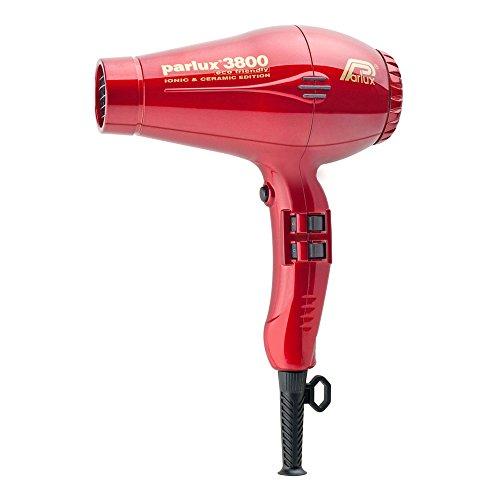 Parlux 3800 Ionic & Ceramic - Colore Rosso