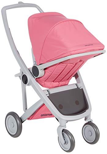 Greentom A+B+D grijs-roze V16 unisex - baby buggy