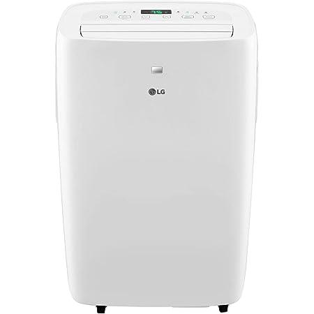 LG 6,000 BTU (DOE) / 8,000 BTU (ASHRAE) Portable Air Conditioner, Cools 250 Sq.Ft. (10' x 25' room size), Quiet Operation, LCD Remote, Window Installation Kit Included, 115V