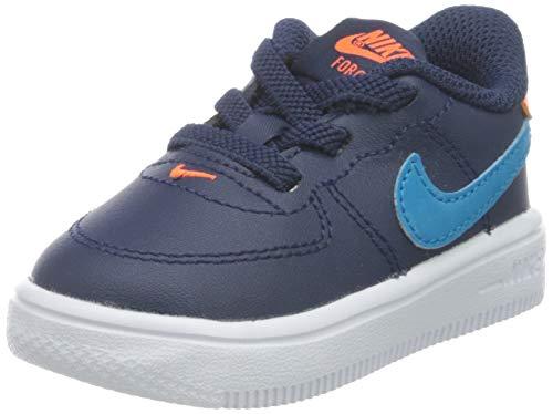 Nike Force 1 '18 (TD), Scarpe da Ginnastica, Midnight Navy/Laser Blue-Hyper Crimson, 26 EU