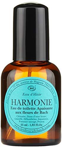 Elixirs & Co Eau d'Elixir Harmonie Eau de toilette Apaisante aux Fleurs de Bach BIO 55 ml