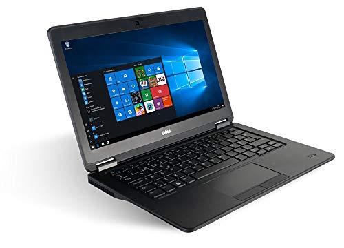 Dell Latitude E7250 12.5  Laptop Notebook - Intel Core i5-5300U 2X 2,3 a 2,9 GHz Turbo - 8 GB DDR3 128 GB SSD - Windows 10 Home 64Bit (Ricondizionato)