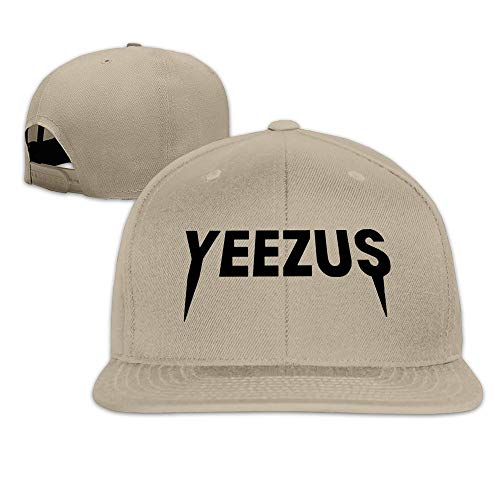 Youaini Unisex Cap Fashion Plain Adjustable Yeezus Kanye West Album Snapback Hats Baseball Hat