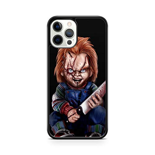 Inspired by Chucky Doll case for iPhone 12 Pro Max 12 Mini 11 Pro Max SE 2020 XR 7 plus 8 plus iPhone Xs Max Case Halloween Charles Lee Ray M238