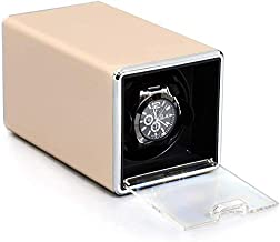 Mechanical Watch Winder, Single-Table High-End Luxury Portable Watch Storage Box, Metal Case Electric Motor Winder