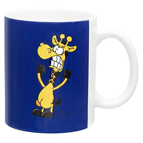 Ralph Ruthe Kaffeetasse HNO-Motiv, Teetasse Kaffeebecher