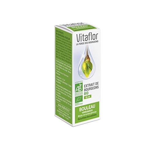 Vitaflor Extrait de Bourgeons Bio Bouleau 15 ml