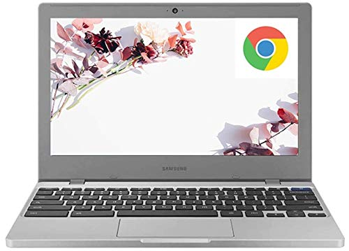 "2020 Flagship Samsung 11 Chromebook 4 Laptop Computer 11.6"" HD Display Intel Celeron Processor N4000 4GB DDR4 32GB eMMC Gigabit WiFi Type C Webcam Chrome OS + iCarp Wireless Mouse"