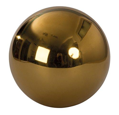 Große Dekokugel in Gold ca. Ø 20 cm Edelstahl Kugel Weihnachten Deko