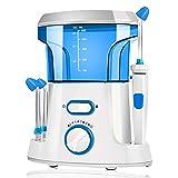 Kit de enjuague sinusal Limpiador nasal Aspirador Limpiador de lavado de nariz eléctrico Irrigator para rinitis Alergias Bebé adulto Profundamente limpio 3 boquilla de pulso,White,210x150x100mm