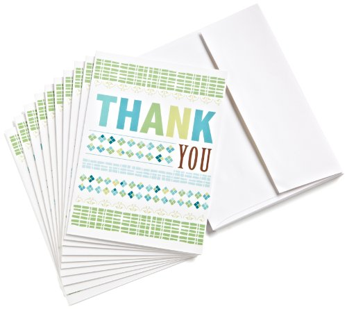 Amazon.com $15 Gift Cards, Pack of 10 with Greeting Cards (Thank You Design)
