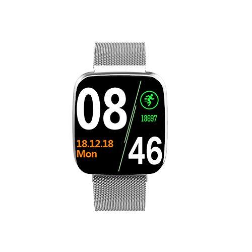 Smart Watch Mobiele Telefoon Bluetooth Smart Wearable Fashion Sports Stappenteller Stap Adsorptie Beautiful Arc Fashion Watch