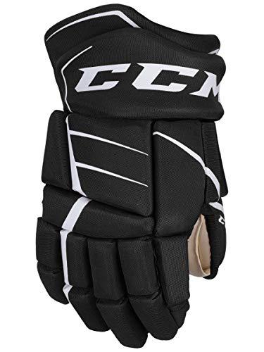 CCM Jetspeed FT350 Hockey Gloves (12 Inch - Black/White)