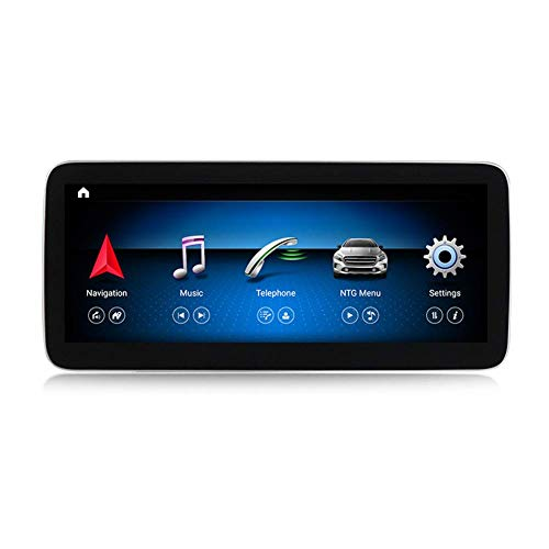 XXRUG Android Car Stereo Sat Nav para Mercedes Benz Clase G W461 2012-2015 Unidad Principal Sistema De Navegación GPS SWC 4G WiFi BT USB Mirror Link Carplay Inalámbrico Incorporado