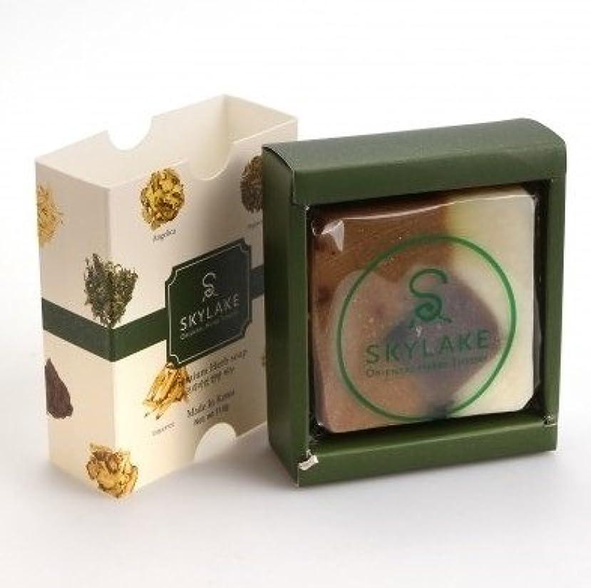 厚さ側面ピッチ[1+1]ハヌルホス[Skylake] 漢方アロマ石鹸Oriental Herbs Theory Soap (プレミアム手作り漢方)