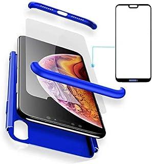 BCIT Huawei P20 Lite Funda Funda Huawei P20 Lite 360 Grados Integral para Ambas Caras + Cristal Templado, Luxury 3 in 1 PC...