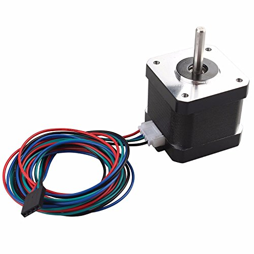 42 Stepper Motor Nema17 2 Fase 4-Wire 42BYGH34 1.3A 42 x 42 x 34mm Voor CNC 3D Printer
