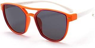 NIUASH - Gafas de Sol polarizadas Gafas de Sol polarizadas de Silicona Flexibles para bebés Gafas de Sol de Seguridad para niños Gafas de Sombra Uv400 para niños