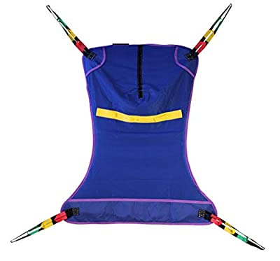ProHeal Universal Full Body Mesh Lift Sling - Polyester Slings for Patient Lifts - Compatible with Hoyer, Invacare, McKesson, Drive, Lumex, Medline, Joerns and More