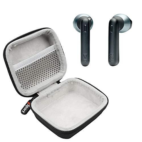 JBL Tune 220TWS True Wireless in-Ear Headphones Bundle with gSport Deluxe Hardshell Case (Black)
