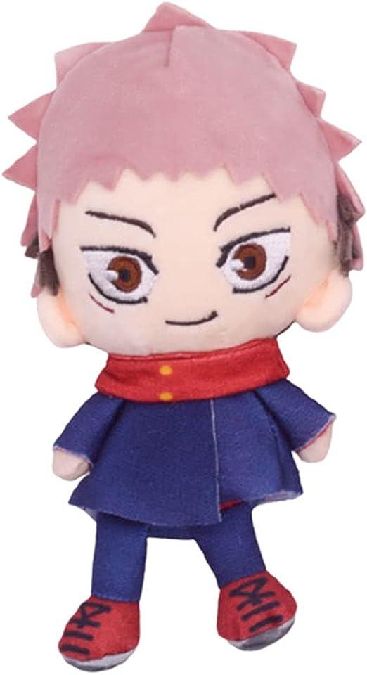 DOUJIONG Anime Jujutsu Kaisen Itadori Yuji Plush Toys Soft Stuffed Dolls Cushion