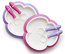 babybjorn baby plate and fork set toddler plate set kid plate set
