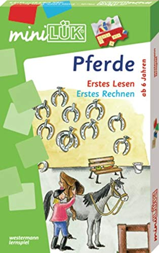 miniLÜK-Sets / Kasten + Übungsheft/e: miniLÜK-Sets / miniLÜK-Set: Kasten + Übungsheft/e / Vorschule/1. Klasse - Mathematik, Deutsch: Pferde