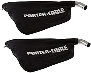 Porter Cable Replacement (2 Pack) Dust Bag for 351/352 Belt Sander # 696167-2pk by PORTER-CABLE
