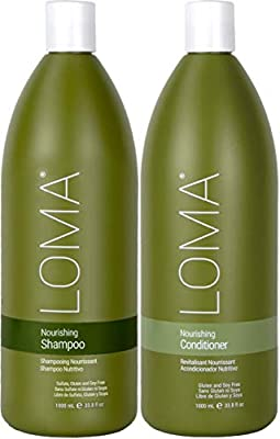 LOMA Nourishing Shampoo and Nourishing Conditioner (DUO PACK) 33 Ounce (Liter)