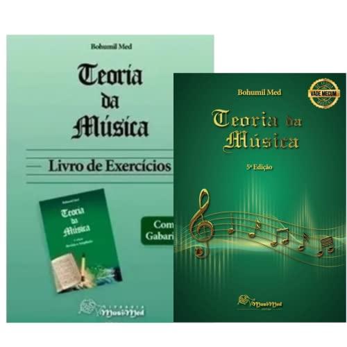 Teoria Da Música - Bohumil Med (Kit 2 Livros)
