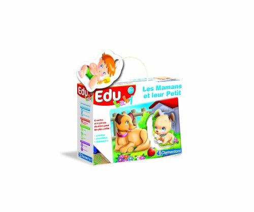 Clementoni - 62074.6 - Jouet Premier Age - Edubaby les Mamans et leur Petit