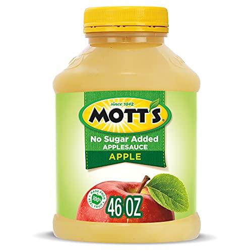 Mott's No Sugar Added Applesauce, 46 Ounce Jar