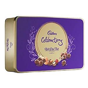 Cadbury Celebrations Rich Dry Fruit Chocolate Gift Box, 177 g & Cadbury Celebrations Silk Special Selection Gift Pack…