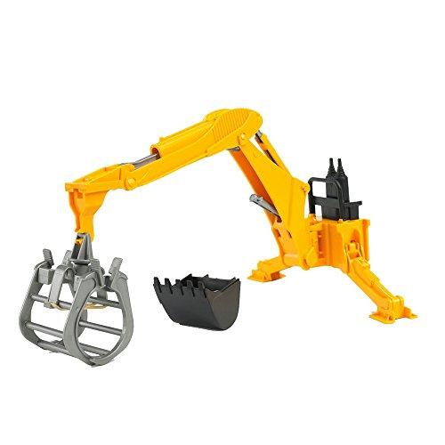 BRUDER - 02338 - Bras hydraulique avec fourche - Jaune