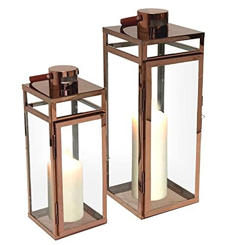 Multistore 2002 Multistore 2002 2tlg. Laternen-Set H49,5 38,5cm Bild