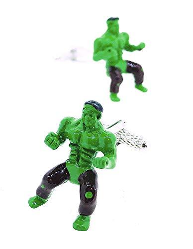 Hulk 3D-Manschettenknöpfe