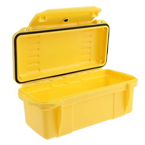 P Prettyia Werkzeugbox/Werkzeugkoffer/Werkzeugkasten Camping Werkzeug Organizer - Gelb