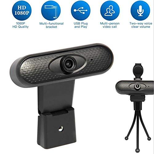 HD 1080P Webcam, USB Webcam, Ingebouwde Microfoon, Automatische Kleurcorrectie Mini Plug And Play Webcam Voor Live Uitzending Chatten Video